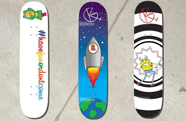 Introducing Kudos Skateboards