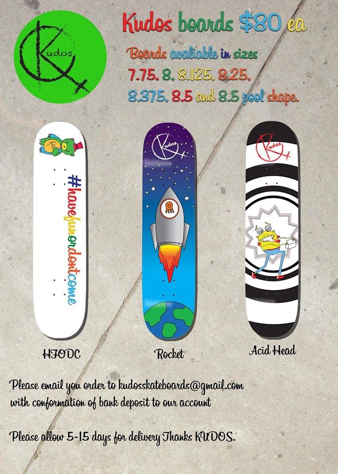 Kudos Skateboards