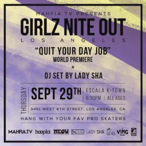 GNO LA: Quit Your Day Job Premiere